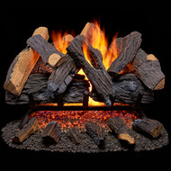 Duluth Forge Vented Natural Gas Fireplace Log Set