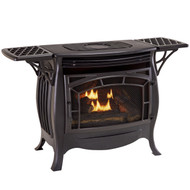 Duluth Forge Vent Free Gas Stove With Remote Control