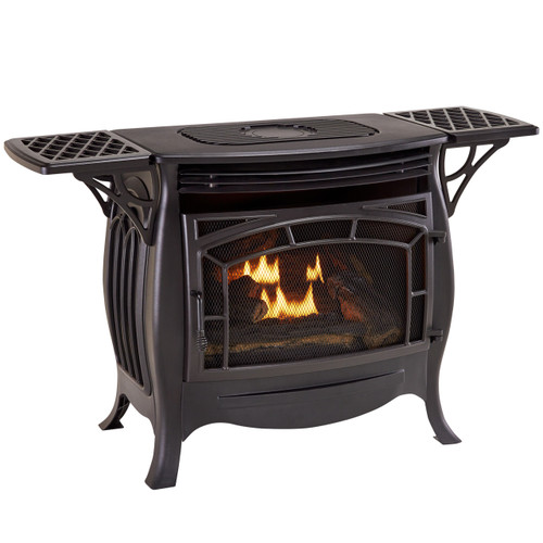Duluth Forge Dual Fuel Vent Free Gas Stove Model Fdsr25