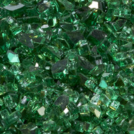 Duluth Forge 1/4 in. Classic Emerald 10 lb. Fire Glass