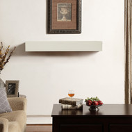 Duluth Forge Fireplace Shelf Mantel in Antique White