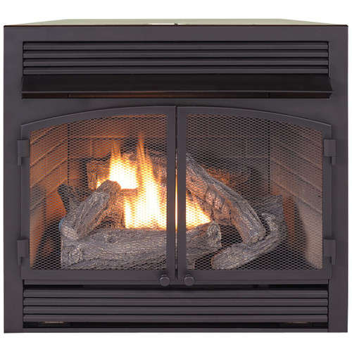 Duluth Forge Dual Fuel Ventless Fireplace Insert 32 000