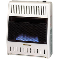 ProCom Reconditioned Dual Fuel Vent-Free Blue Flame Heater - 20,000 BTU, Model# MD200TBA
