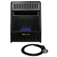 ProCom Reconditioned Liquid Propane Ventless Ice House Heater - 10,000 BTU, Model# ML100TBAHR