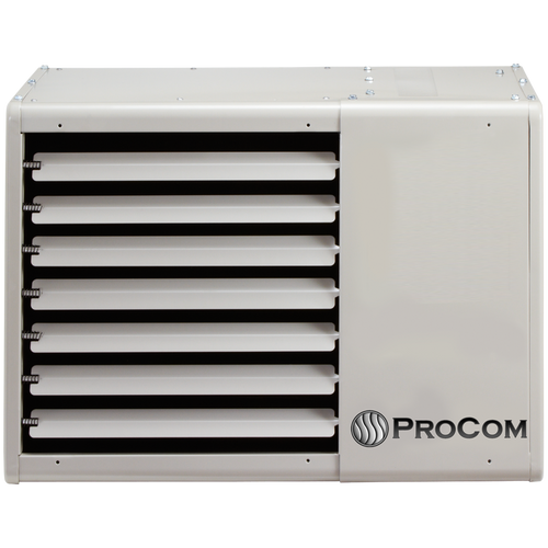 Procom vented garage heater 75 000 btu t stat model for How much to install a garage heater