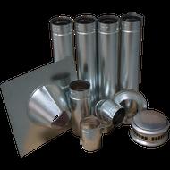 Vertical Vent Kit For ProCom B-Vent Garage Heater, Model# GHVVK