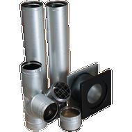 Horizontal Vent Kit For ProCom B-Vent Garage Heater, Model# GHHVK