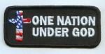 One Nation Under God Patch  Biker Patch