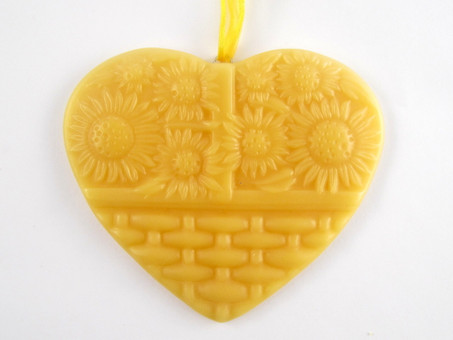 Beeswax Sunflower Ornament