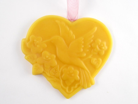Beeswax Hummingbird Ornament