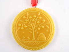Beeswax Tree of Life Ornament