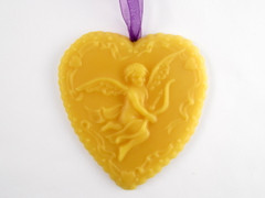 Beeswax Cherub Ornament