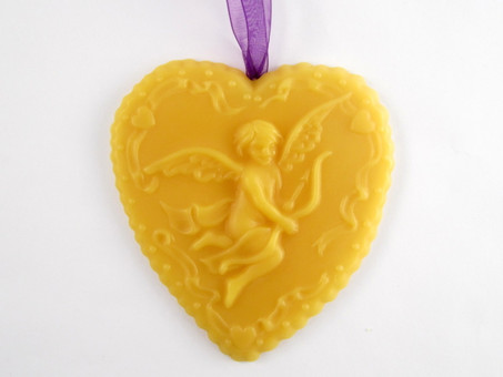 Beeswax Cherub Ornament