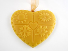 Beeswax Seasons Ornament