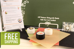 Beeswax Sushi Candle Kit