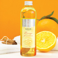Orange & Cinnamon Bath Oil