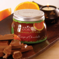 Orange & Chocolate Exfoliating Body Scrub