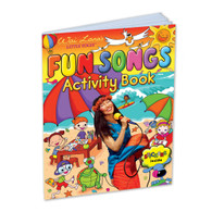 Wai Lana's Little Yogis™ Fun Songs Activity Book