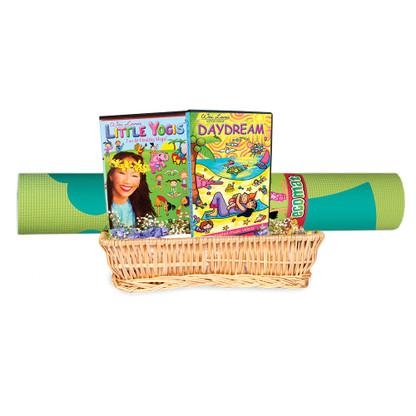 • Little Yogis Vol. 1 DVD • Little Yogis Daydream DVD • Little Yogis Eco Mat