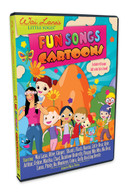 Wai Lana's Little Yogis™ Fun Songs Cartoon DVD with Lyrics Book