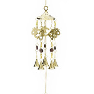 OM Brass Wind Chime