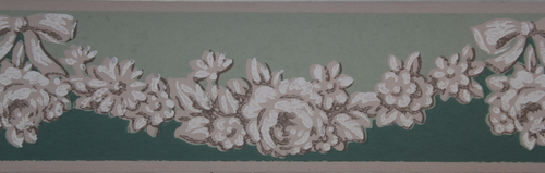 Trimz Vintage Wallpaper Border Antique Relief