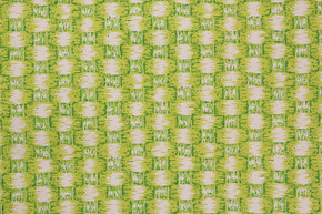 1970's Vintage Wallpaper Bright Green Faux Weave