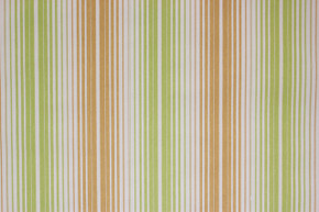 1970's Vintage Wallpaper Green and Brown Stripe