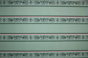 Green and Pink Vintage Wallpaper Border