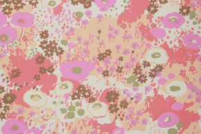 1970's Vintage Wallpaper Retro Floral