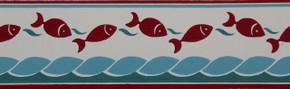 Trimz Vintage Wallpaper Border Marine Frolic