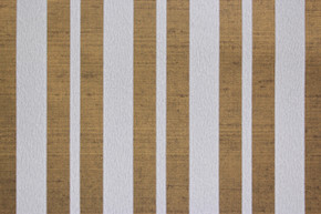 1970's Vintage Wallpaper White Flocked Stripe