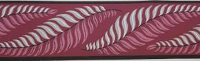 Trimz Vintage Wallpaper Border Fern Formal Dubonnet
