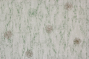 1950's Vintage Wallpaper Retro Starbursts on Green Wood Grain Plank