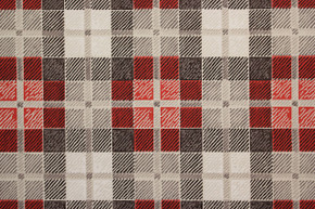 1950's Vintage Wallpaper Red and Black Plaid