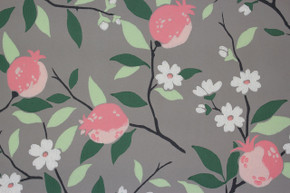 1950's Vintage Wallpaper Peach Blossom