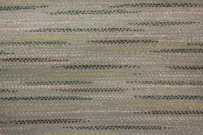 1940's Vintage Wallpaper Faux Green and Brown Woven