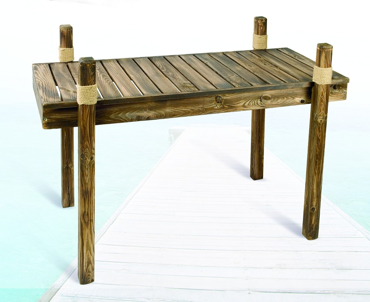 Wooden Dock Tables Nautical Furniture Beach Home Decorative Accessories & Free Shipping from