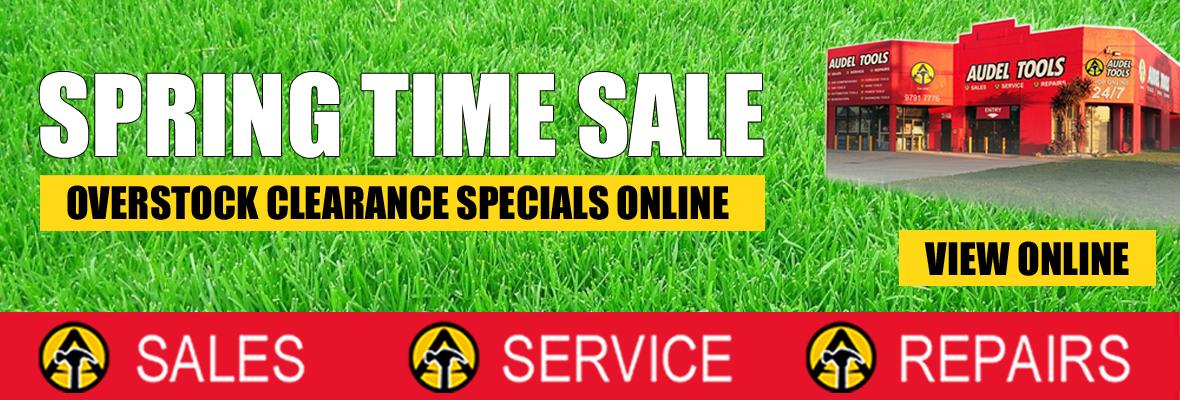 Audel Tools - Spring Time Sale