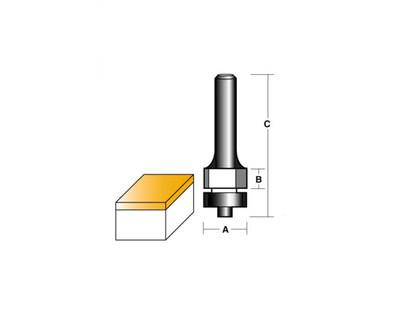 Carb-I-Tool T192.00B Flush Trim 12.7mm