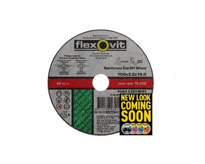 Flexovit 4010216 Masonry Cut Off Wheel 100x3.2x16mm