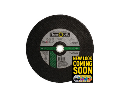 Flexovit 4335625 Masonry Cut Off Wheel 356x3.8x45.4mm