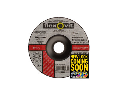 Flexovit 6015268 Metal Grinding Wheel 150x6.8x22mm