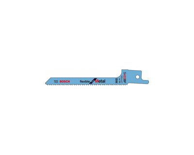 Bosch Sabre Saw Blade S 422 BF Flexible for Metal 2 Pack