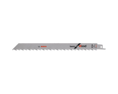 Bosch Sabre Saw Blade S 1111 K Basic for Wood 2 Pack