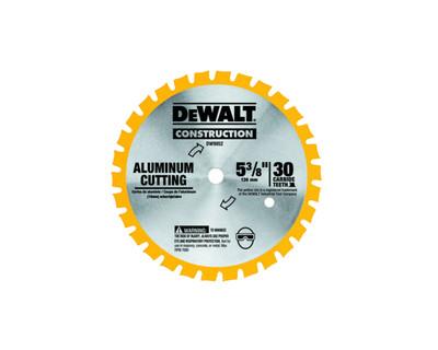 Dewalt DW9052 Aluminium Cutting Cordless Saw Blade 5-3/8'' x 30T