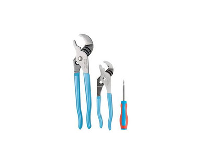 Channellock VJ-1S Tool Set 3 Pce