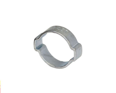 "Air Fittings Steel Double Ear Clamp 11-13mm (1/2"")"