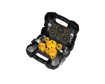 Dewalt D180002 Heavy-Duty Electricians Hole Saw Kit