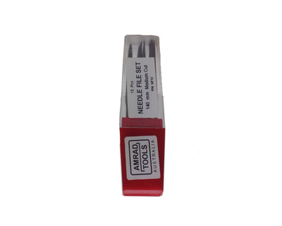 Amrad Tools NF12 Needle File Set 12 Pce